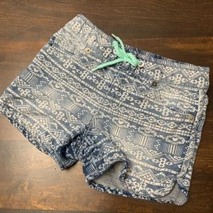 Cat & Jack Tribal Pattern Shorts